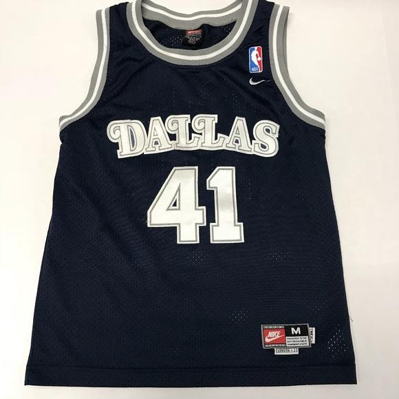 innovative design 59319 830bb Vintage Nike Dallas Mavericks Dirk Nowitzki Jersey